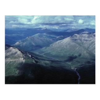 Puertas del parque nacional ártico tarjetas postales