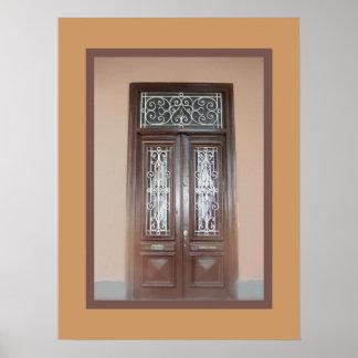 Puertas dobles en Barranco Impresiones