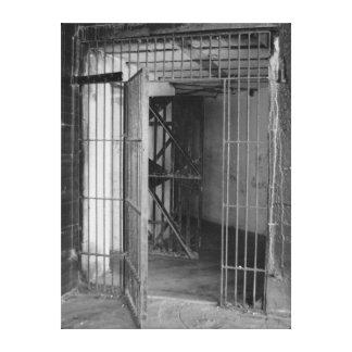 Puertas dobles impresiones en lona