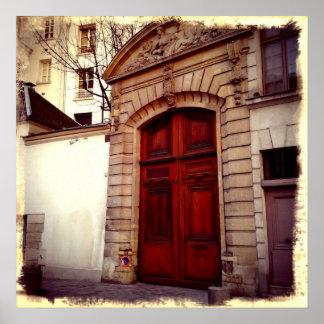 Puertas francesas póster