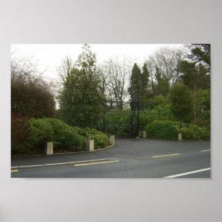 Puertas magníficas del estado de Castlemartin en K Impresiones
