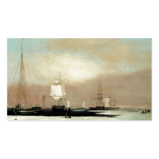 Puerto 1835 de Boston Plantilla De Tarjeta De Visita