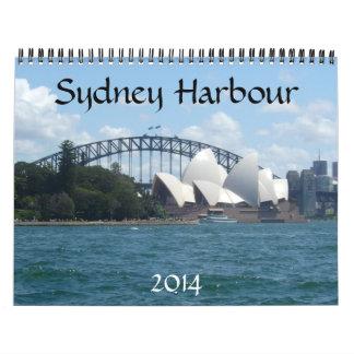 puerto 2014 de Sydney Calendario De Pared