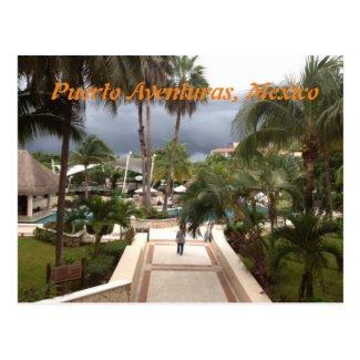Puerto Aventuras, Mexico Post Card