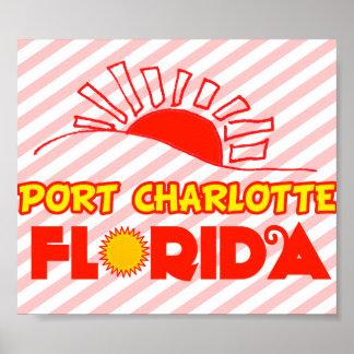 Puerto Charlotte, la Florida Poster