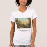 Puerto con el embarque de Santa Ursula Camiseta