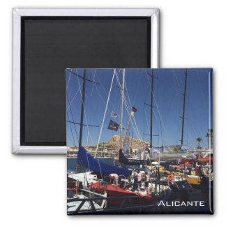 Puerto de Alicante Imán Cuadrado