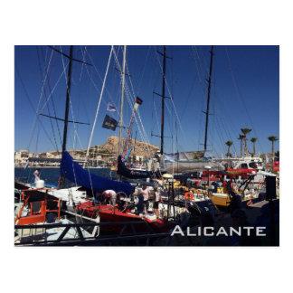 Puerto de Alicante Postales