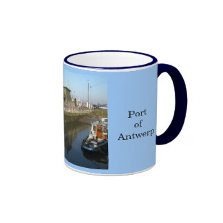 Puerto de Amberes 10 Taza De Café