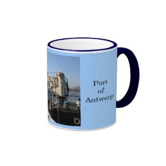 Puerto de Amberes 11 Taza