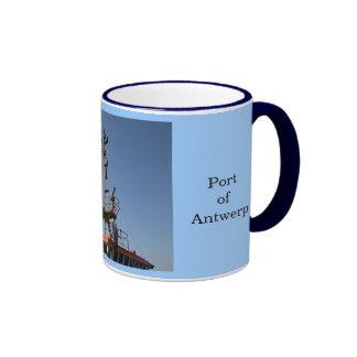 Puerto de Amberes 12 Tazas De Café