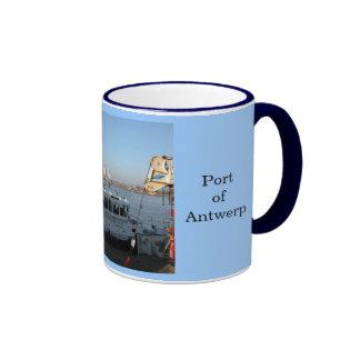 Puerto de Amberes 13 Tazas De Café