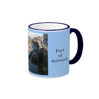 Puerto de Amberes 14 Taza
