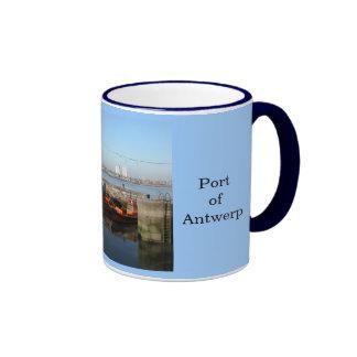 Puerto de Amberes 4 Taza