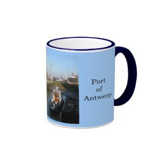 Puerto de Amberes 5 Tazas