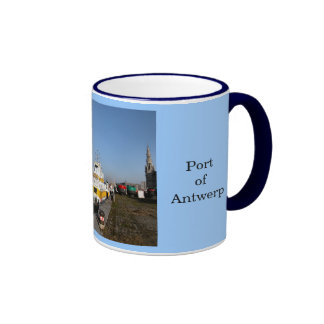 Puerto de Amberes 6 Taza De Café