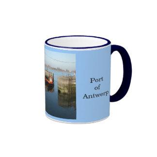 Puerto de Amberes 7 Taza De Café