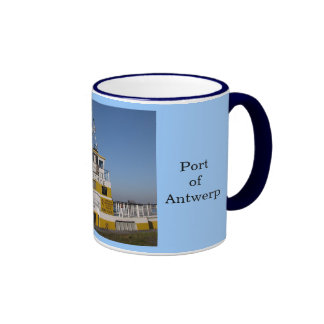 Puerto de Amberes 8 Taza De Café