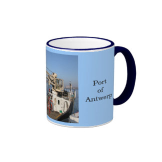 Puerto de Amberes Taza