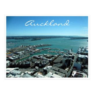 puerto de Auckland Tarjeta Postal