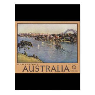 Puerto de Australia Sydney Tarjetas Postales