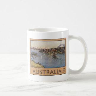 Puerto de Australia Sydney Taza Básica Blanca