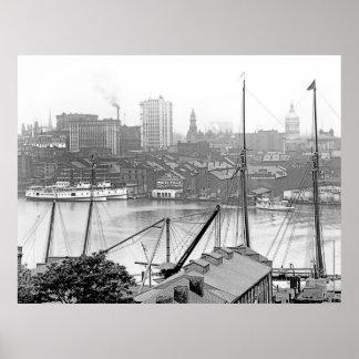 Puerto de Baltimore Impresiones