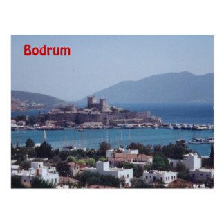 Puerto de Bodrum Tarjetas Postales