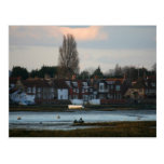 Puerto de Bosham, Sussex del oeste, Inglaterra Tarjetas Postales