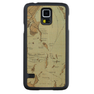 Puerto de Boston Funda De Galaxy S5 Slim Arce