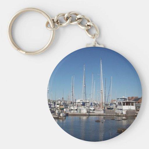 Puerto de Boston Llaveros Personalizados