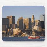 Puerto de Boston, Massachusetts Alfombrillas De Ratones