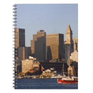 Puerto de Boston, Massachusetts Spiral Notebook