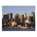 Puerto de Boston, Massachusetts Tarjetas Postales