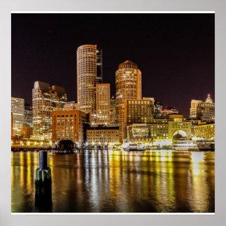 Puerto de Boston Impresiones