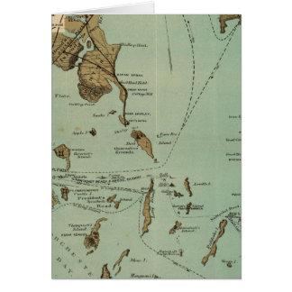 Puerto de Boston Tarjeta De Felicitación