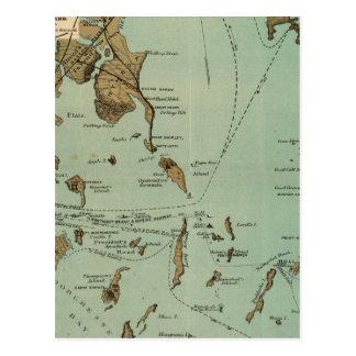 Puerto de Boston Postales