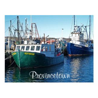 Puerto de Cape Cod Provincetown, postal total