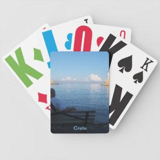 Puerto de Chania naipes de Creta Bicycle® Baraja Cartas De Poker