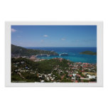 Puerto de Charlotte Amalie Posters