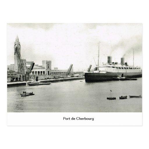 Puerto de Cherbourg Postal