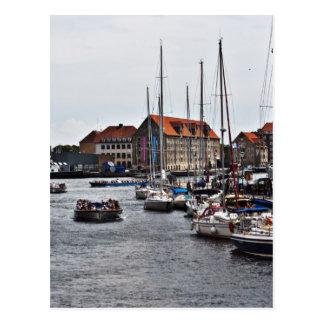Puerto de Copenhague Tarjetas Postales