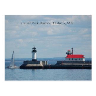 Puerto de Duluth, puerto Duluth, manganeso del Tarjetas Postales