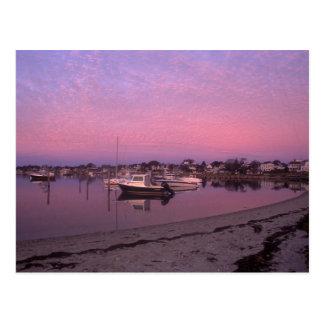 Puerto de Edgartown en el viñedo de Marthas del Postal