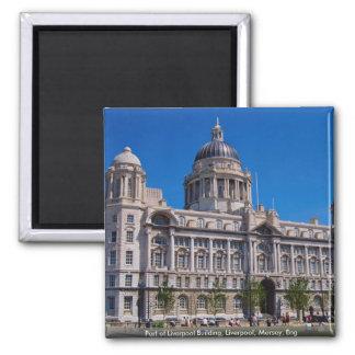 Puerto de edificio de Liverpool Liverpool Mersey Imanes Para Frigoríficos