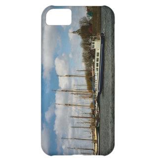 Puerto de Enkhuizen, Ijselmeer, barcos de navegaci Carcasa iPhone 5C