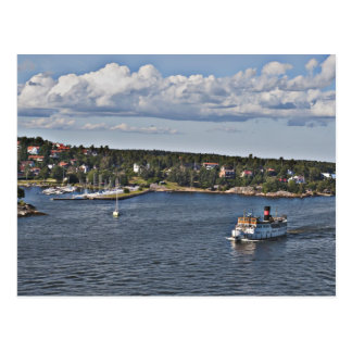 Puerto de Estocolmo Suecia Tarjetas Postales
