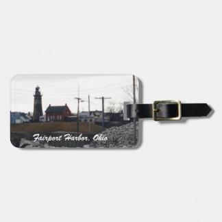 Puerto de Fairport, etiqueta del equipaje de Etiqueta Para Maleta