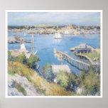 Puerto de Gloucester, Willard 1895 Leroy Metcalf Posters