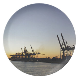 puerto de Hamburgo Platos